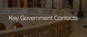 Key Government Contacts Inside Graphic