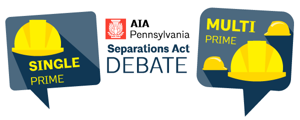 Join AIA Pennsylvania on Thursday, July 13th at Harrisburg University to hear both sides of the Separations Act Debate! This moderated debate will feature ...