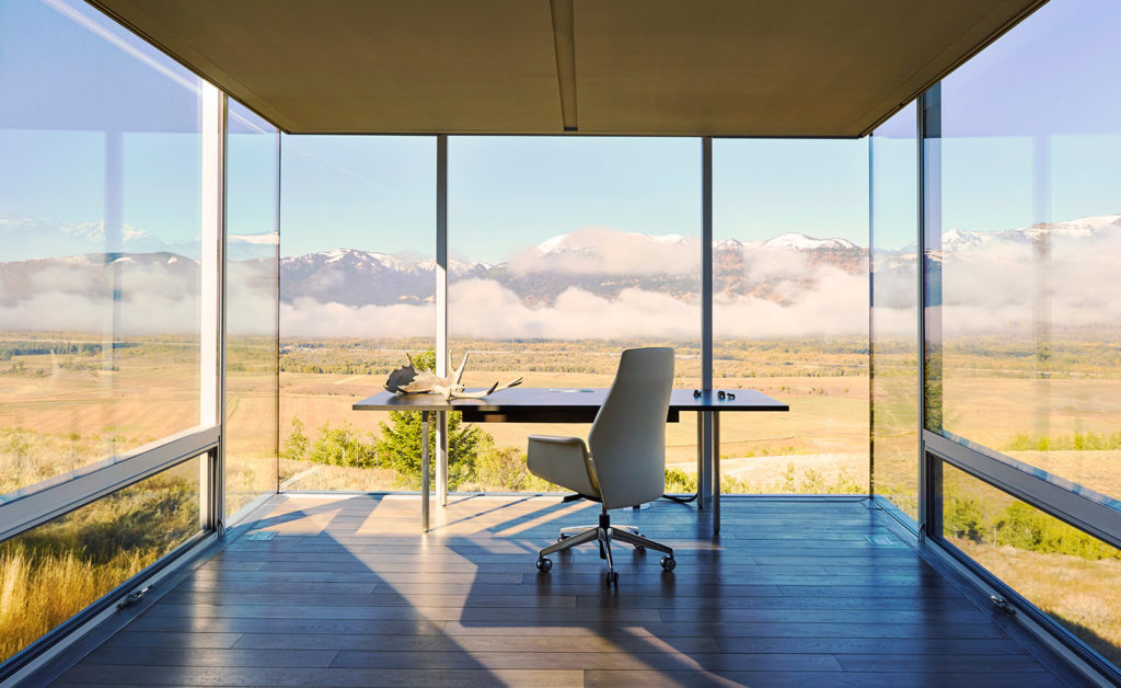 Bohlin Cywinski Jackson designs a retreat in the landscape of Wyoming