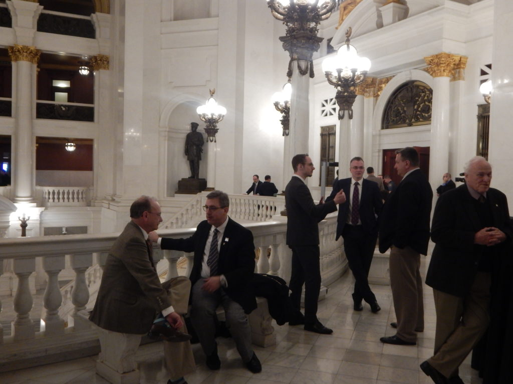 Members at the Legislative Reception