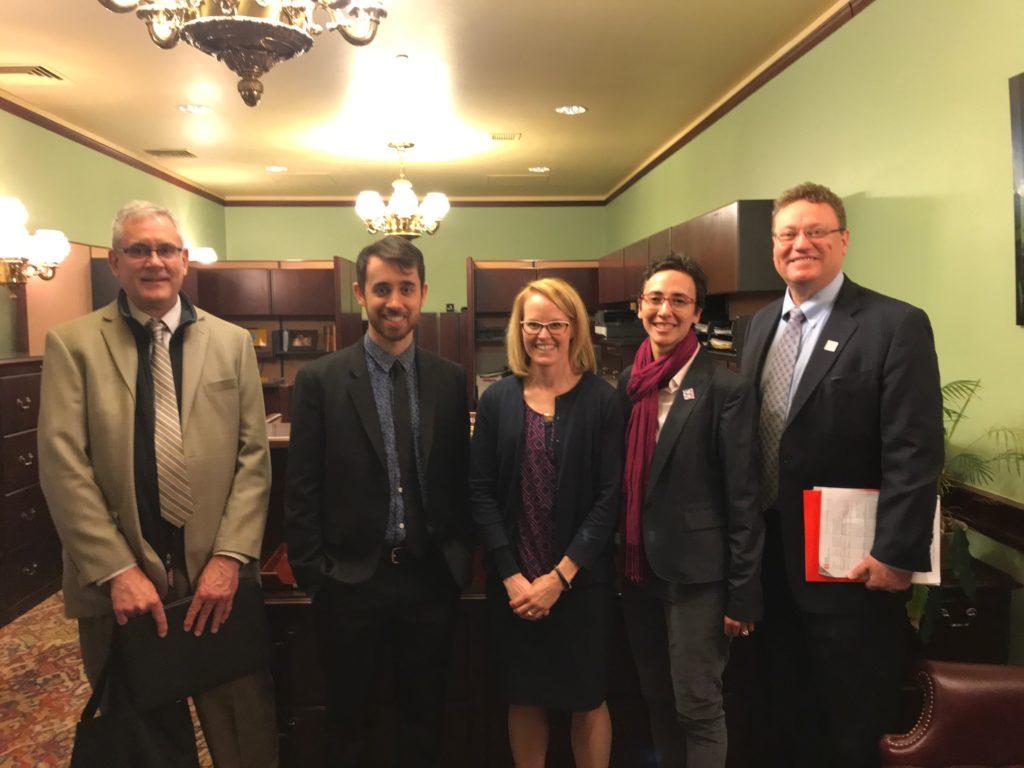 AIA Members post legislative meeting