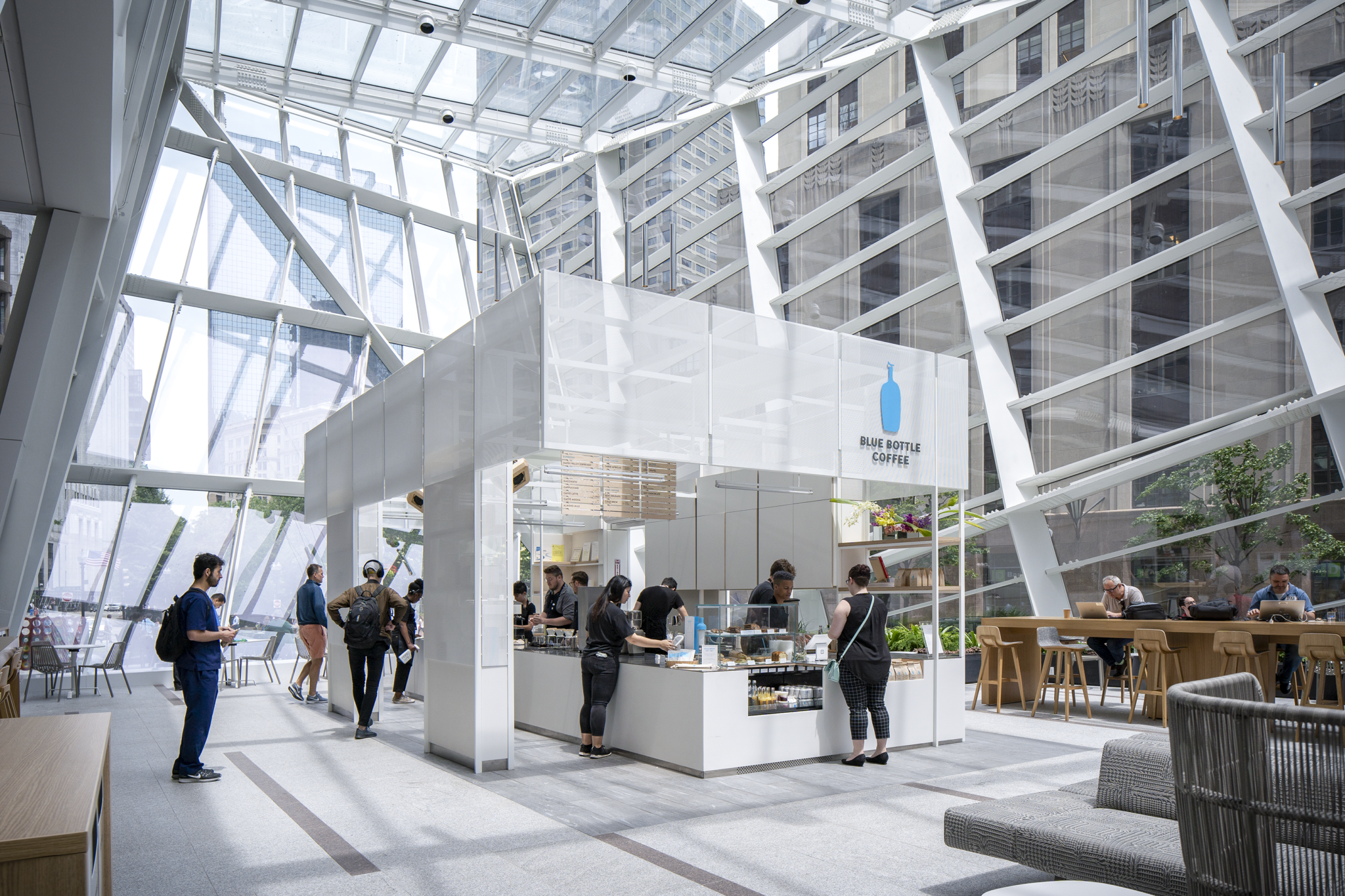 Blue Bottle Coffee, Exchange Café