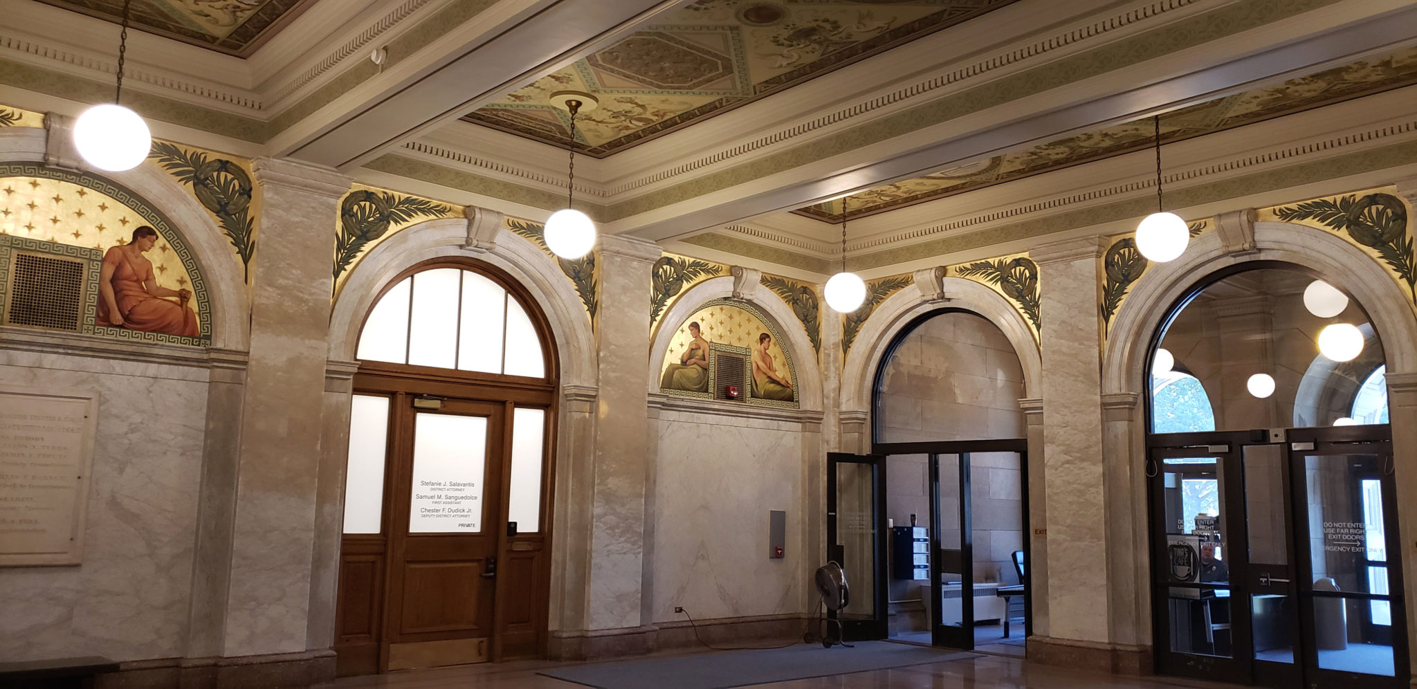Luzerne County Courthouse Rotunda Restoration - Phase I