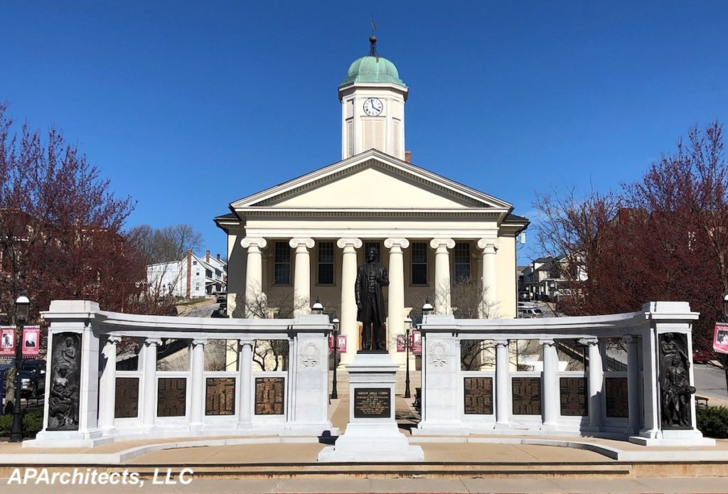 Centre County Soldiers & Sailors Memorial & Curtin Monument