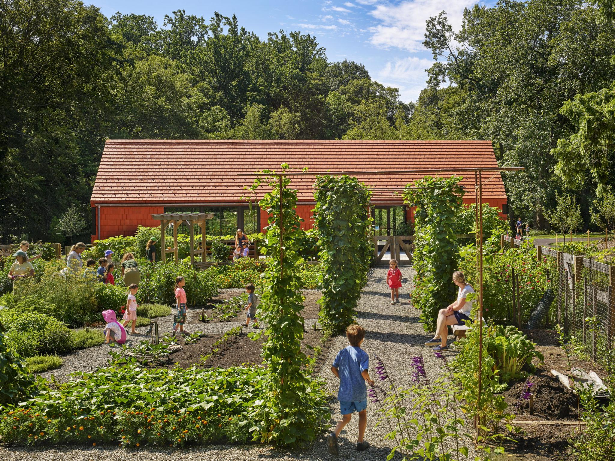 Tyler Arboretum's Edible Garden & Classroom Building