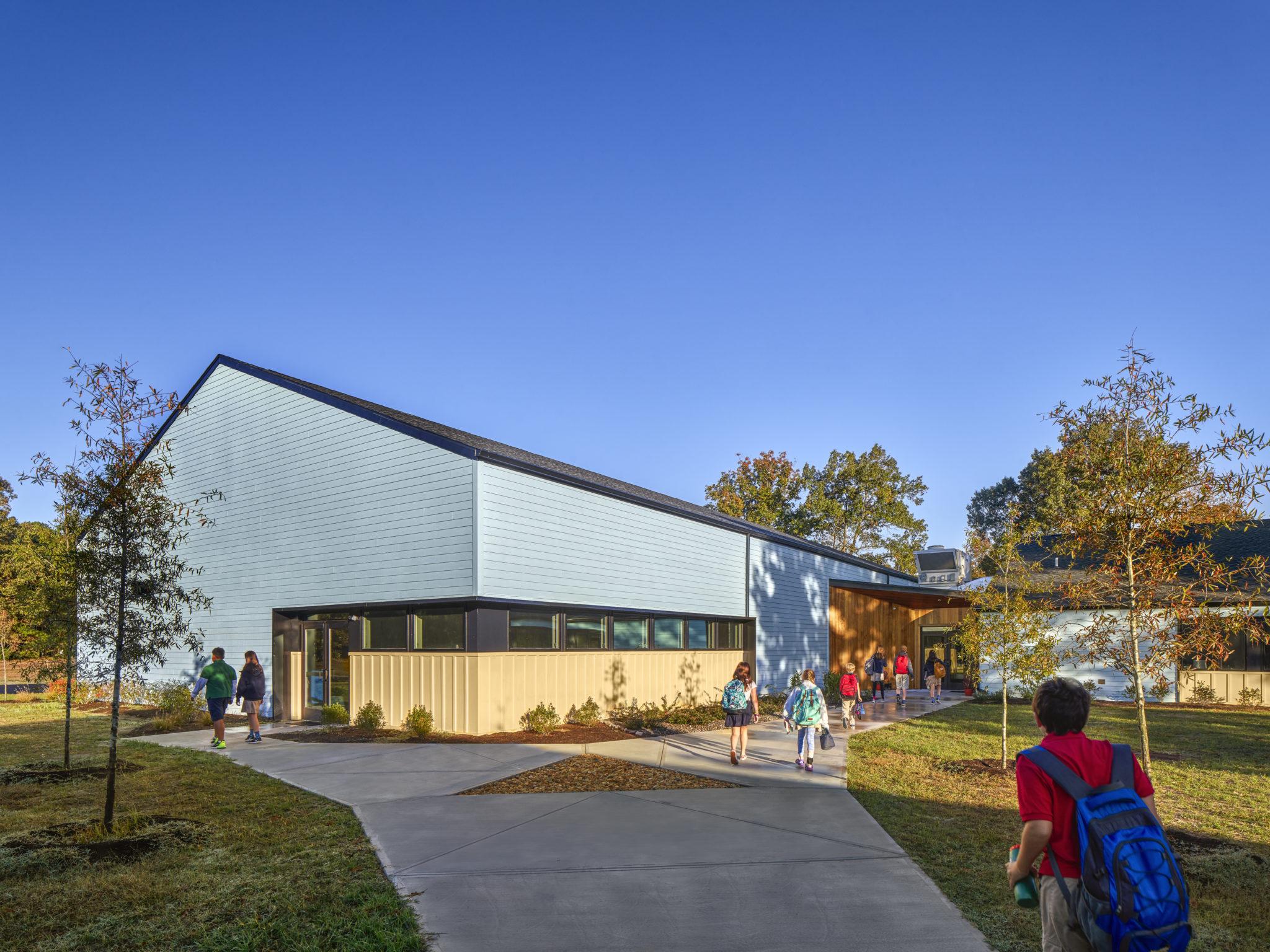 The Jefferson School Middle School Building